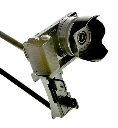 Sony Hero Camera Mounted on the Boombandit